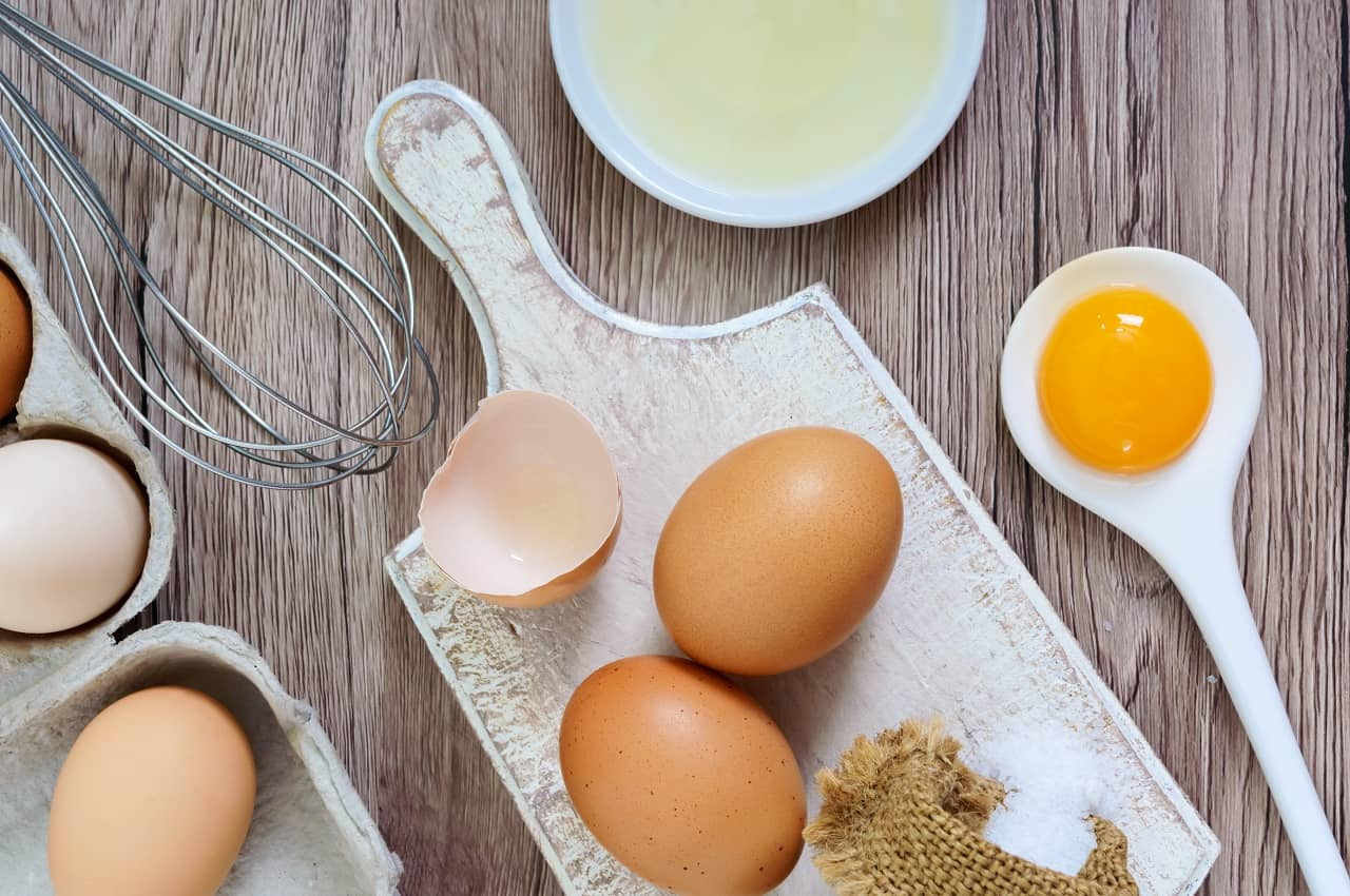 Egg White Homemade facemasks for glowing skin