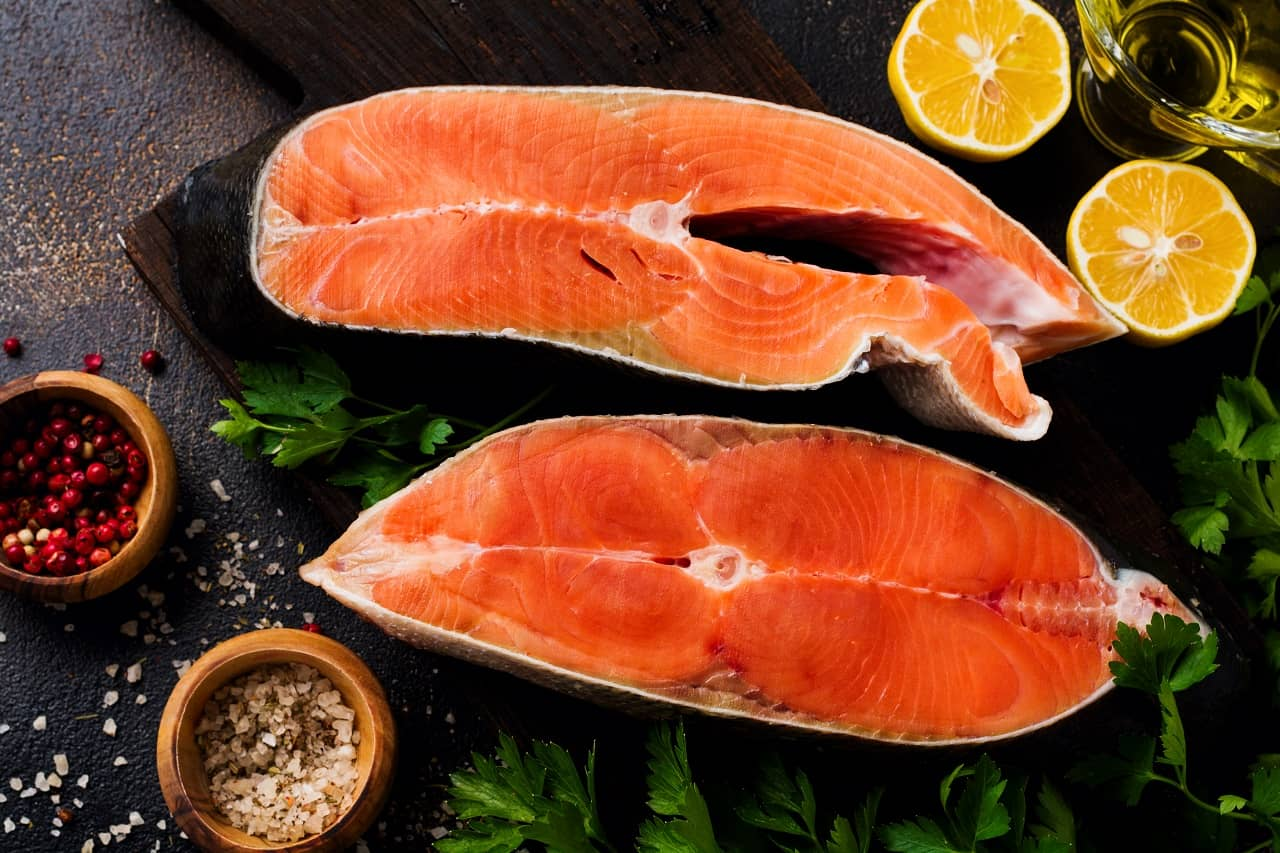 Fatty fishes for hair growth