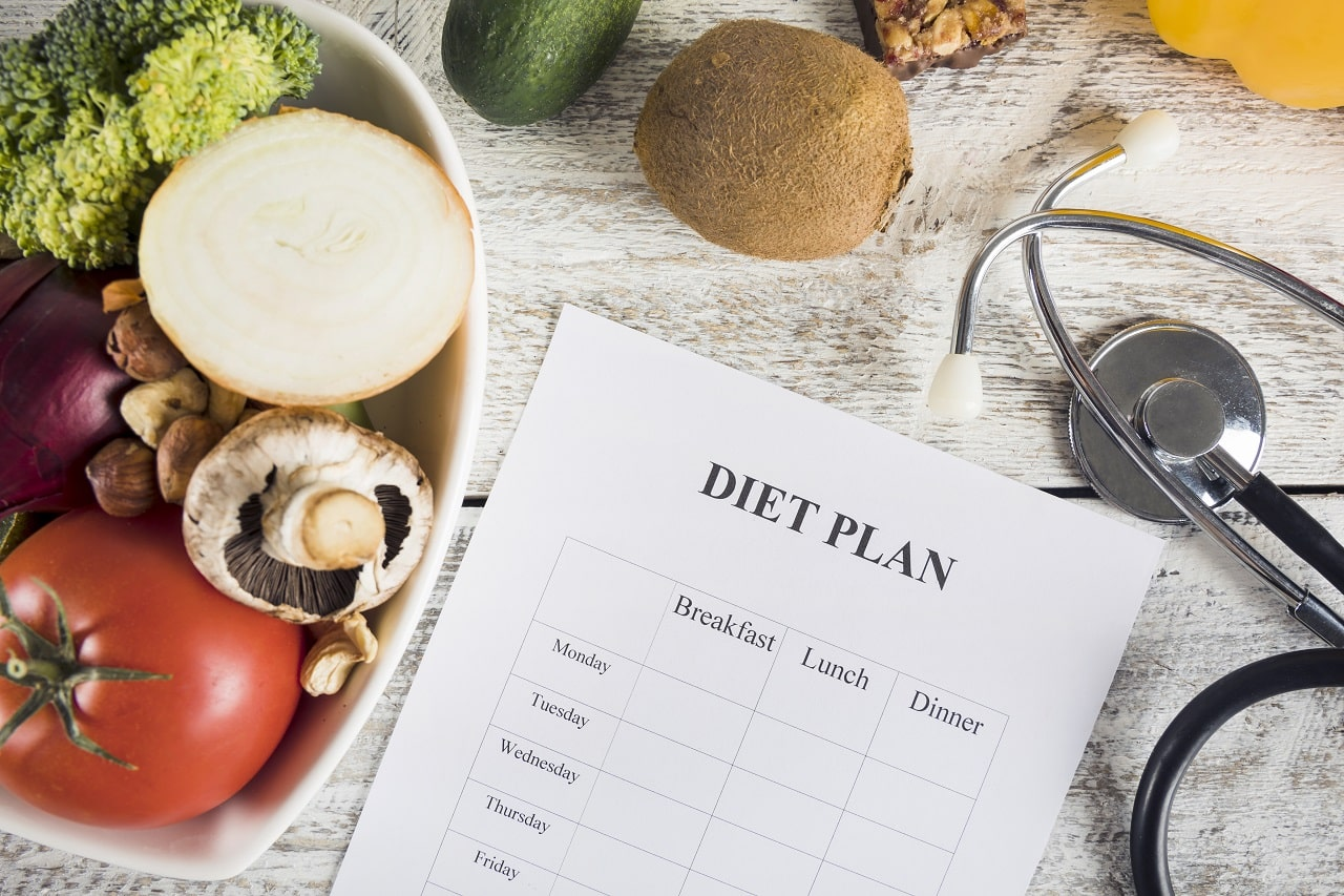Follow A Healthy Diet Plan To Lose Face Fat