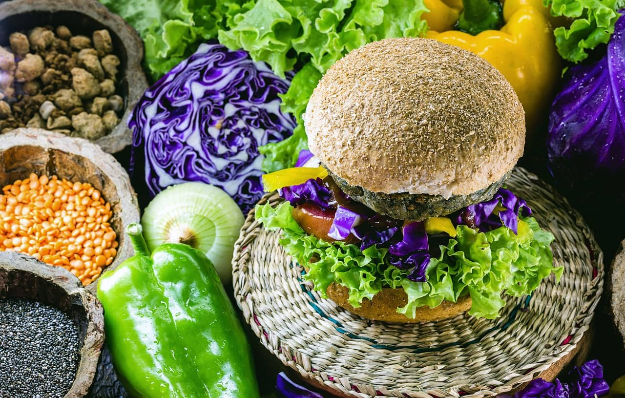 Have plant-based diet to lose neck fat and double chin