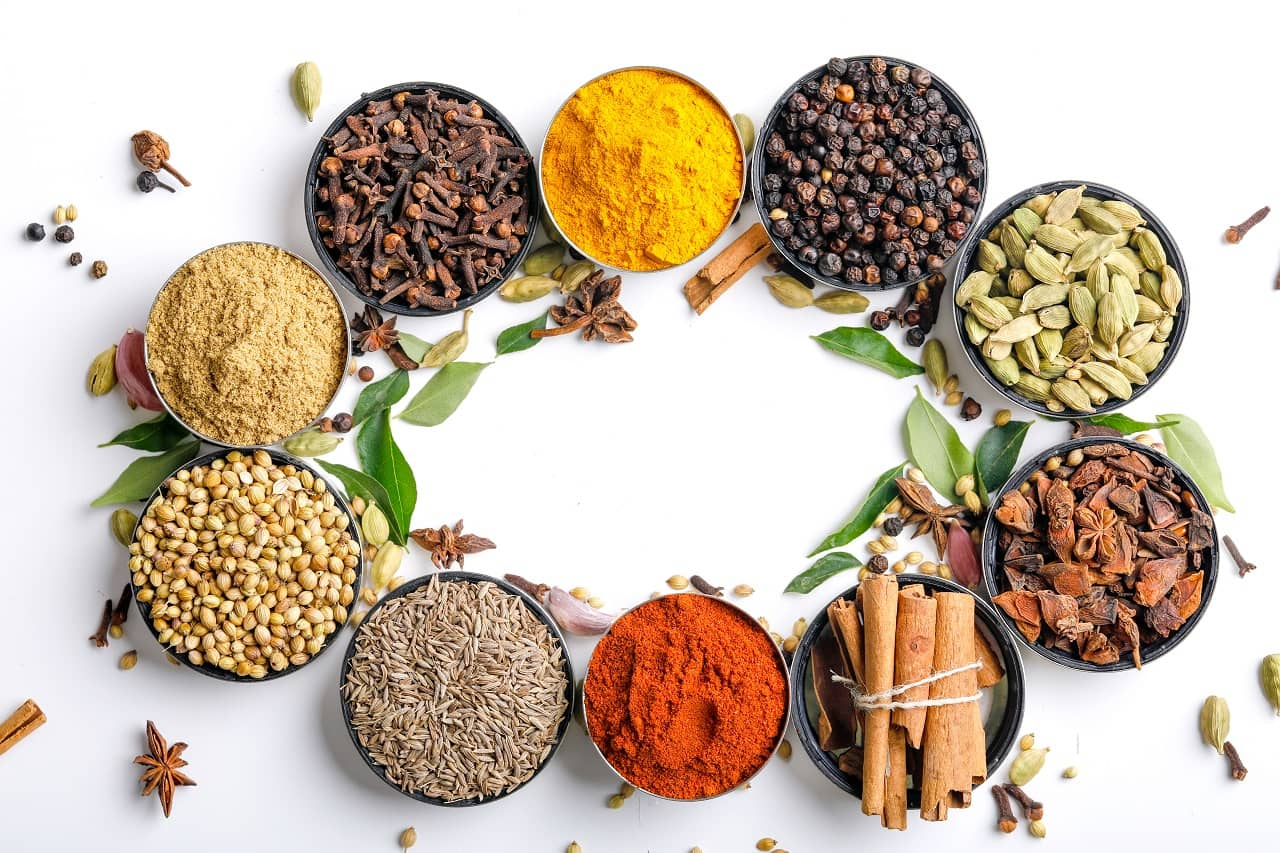 Herbal Spices from the Kitchen that fight acne