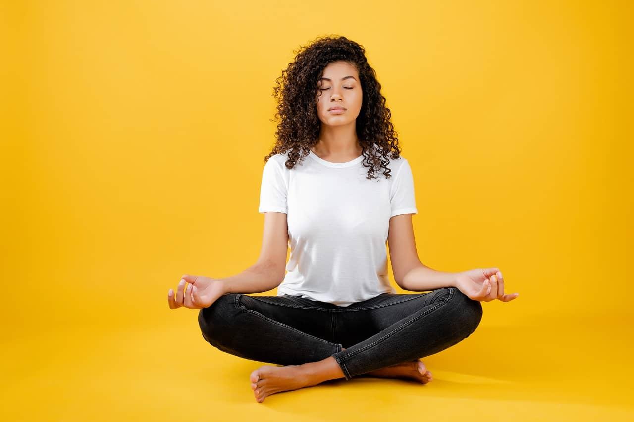 Prana Mudra for weight loss