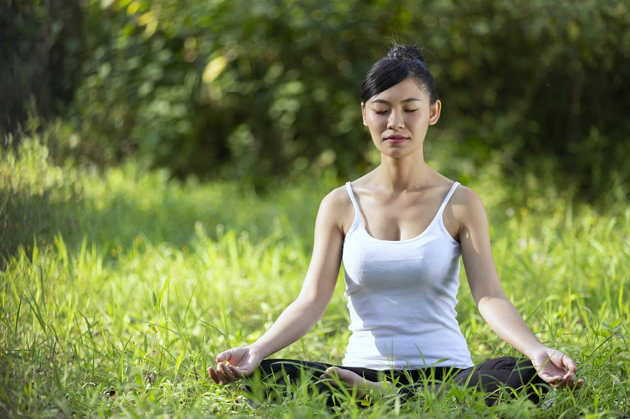 Pushan Mudra for weight loss