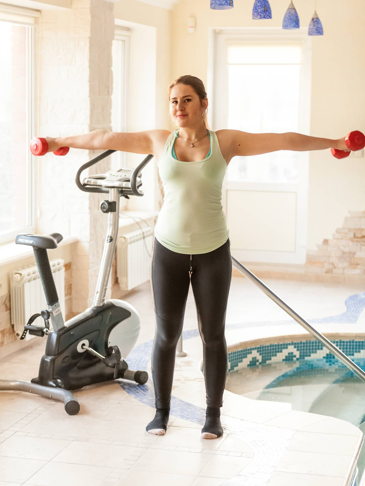 Arm Lifts- Water Based Exercises