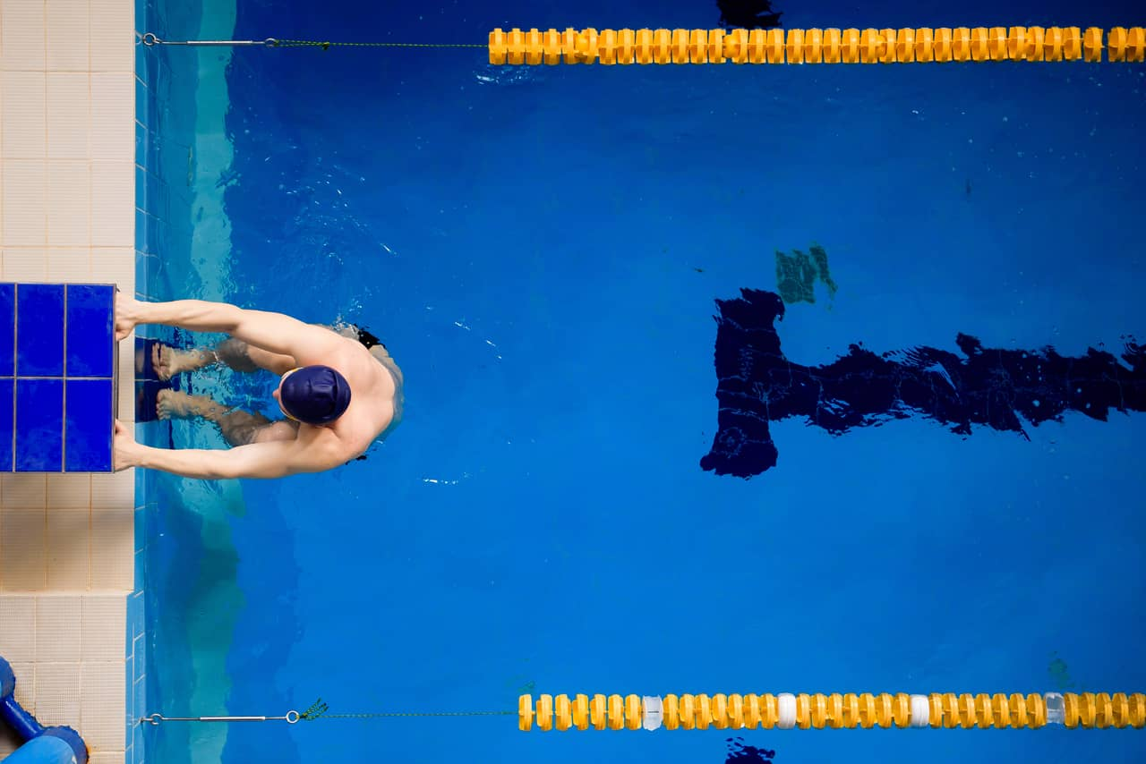 Back Wall Gliding- Water based Exercises
