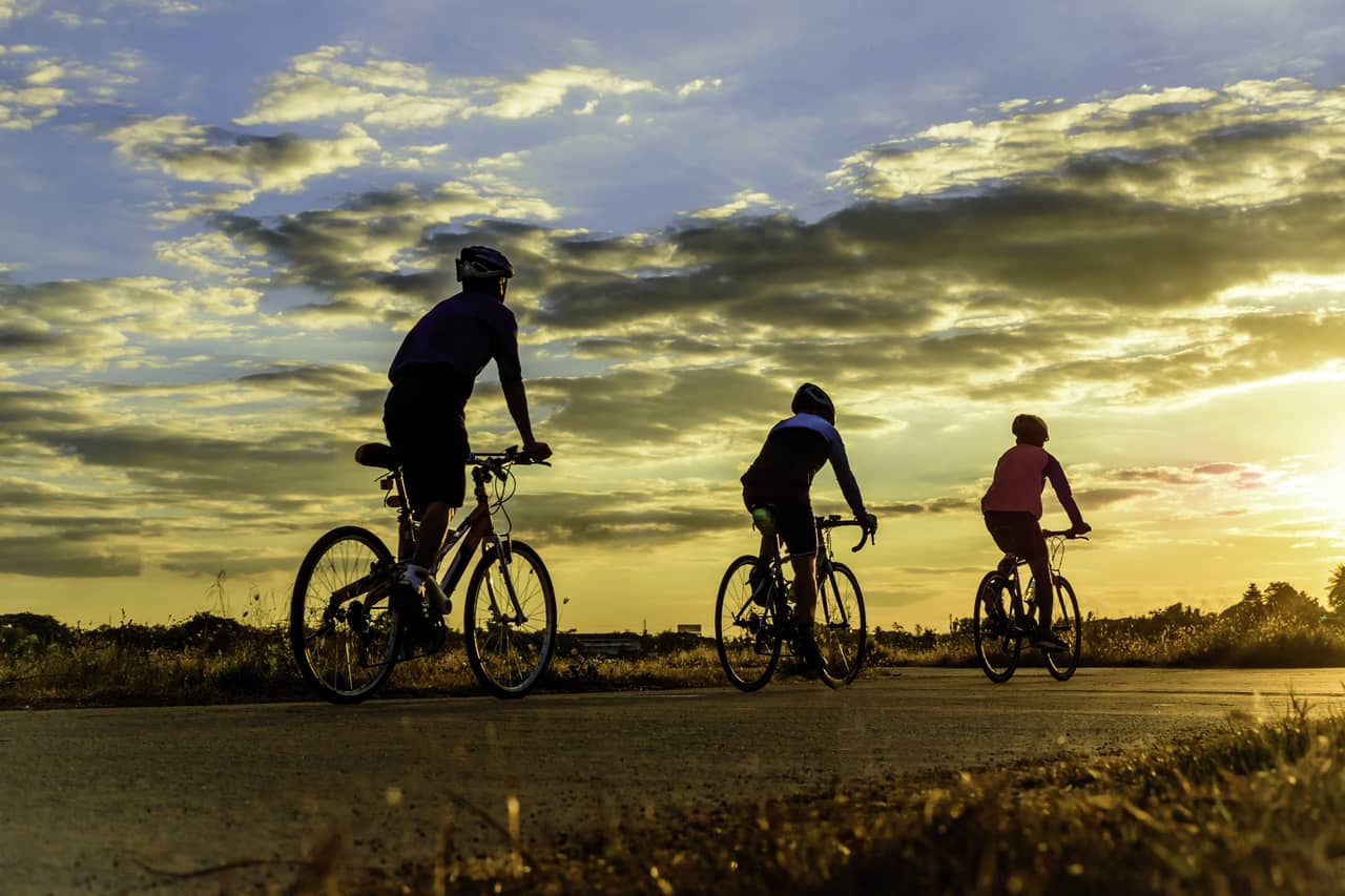 Bicycling to improve fertility