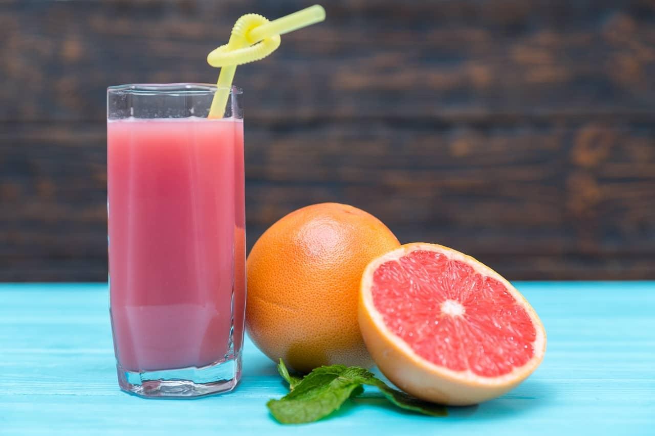Sugar-free Drinks- Blood Orange Smoothie