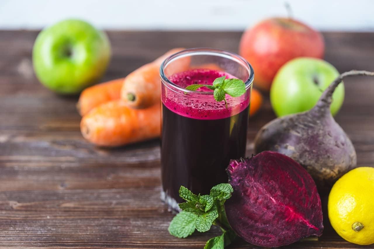 Sugar-free Drinks- Carrot Beet Apple Juice
