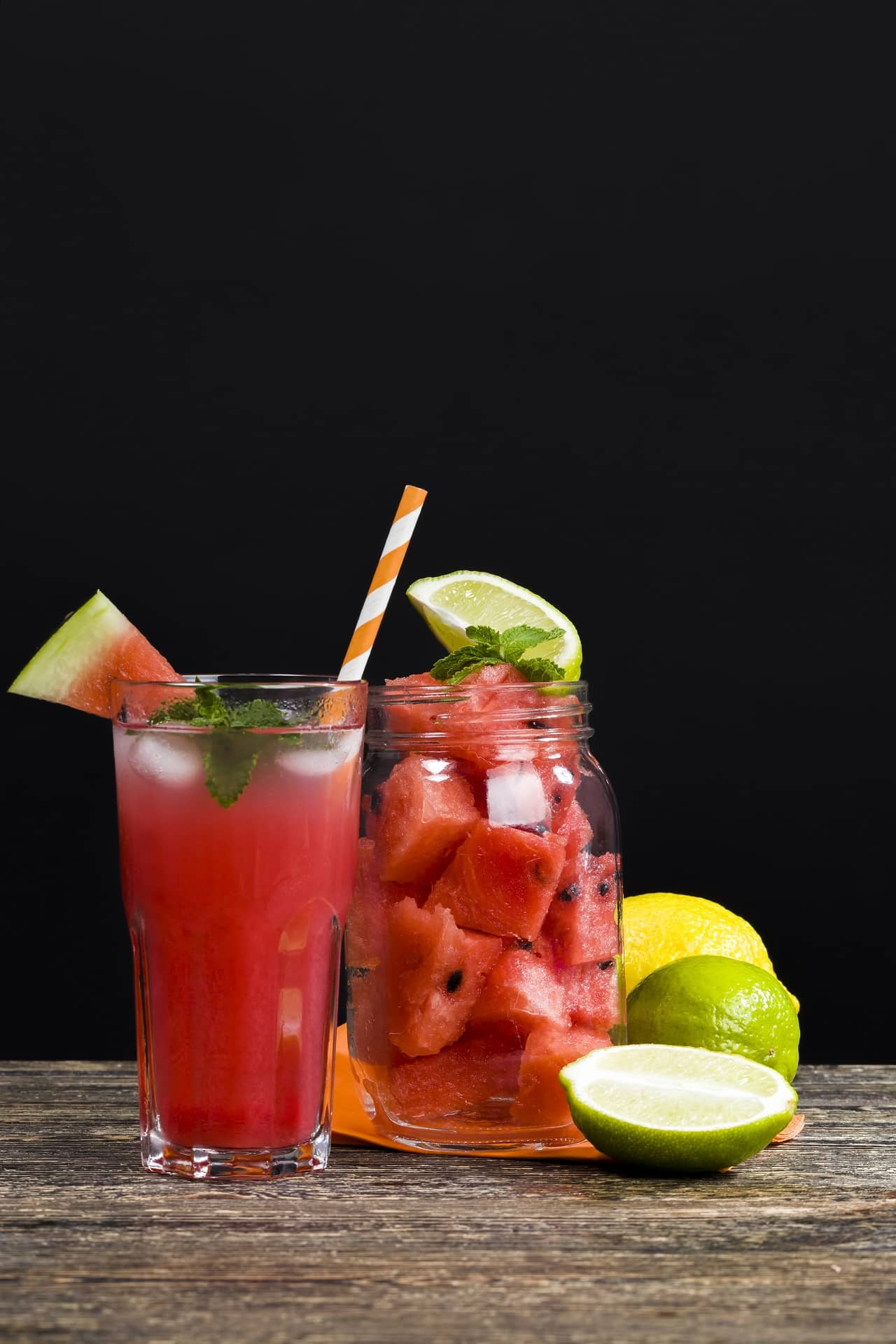 Sugar-free Drinks- Watermelon and Lime Juice