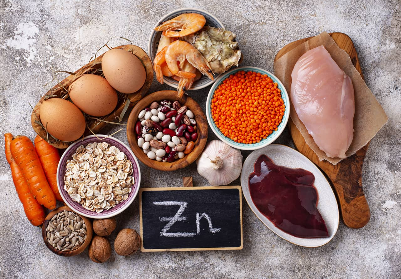 Zinc to activate Thyroid gland