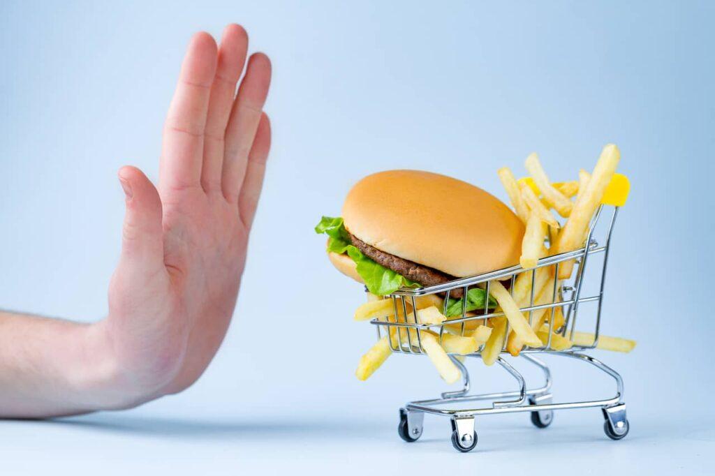 Keep the junk foods at bay