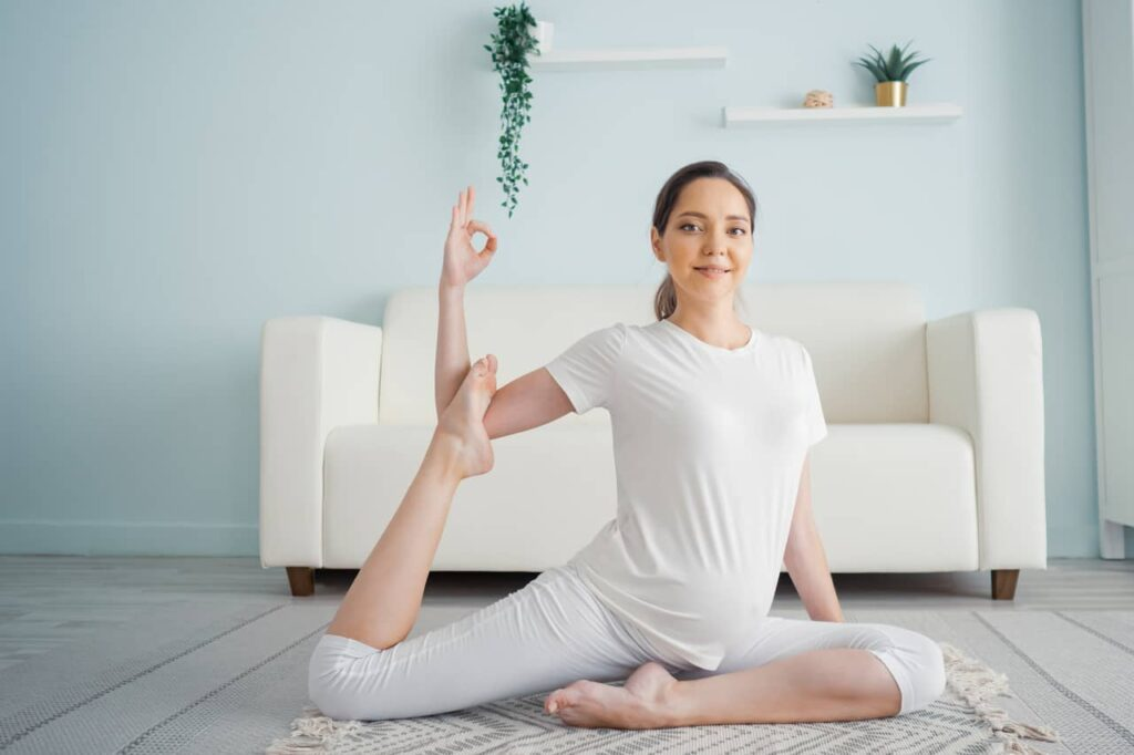 The Ideal Time for Performing Yoga in Pregnancy
