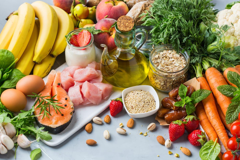dash diet food chart
