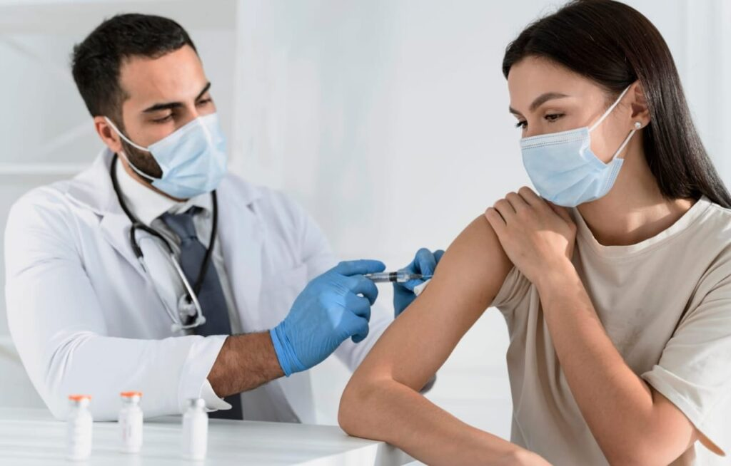 vaccine showed speedy recovery for long haul symptoms